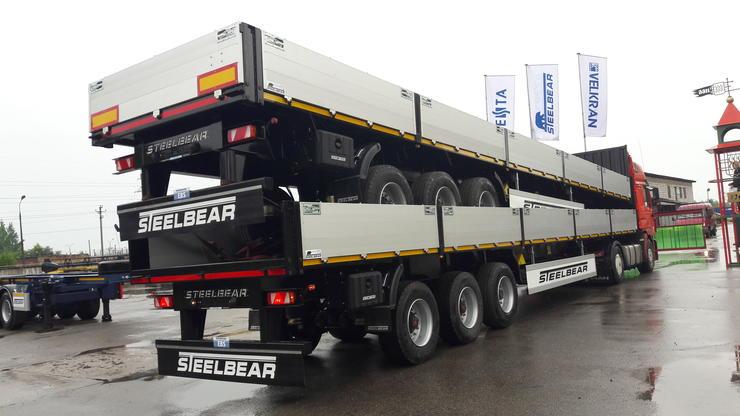 Полуприцепы STEELBEAR из шведской стали STRENX 700МС доказывают свою надёжность от Калининграда до Владивостока
